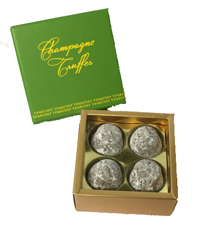 Champagne Truffles - 2 pieces